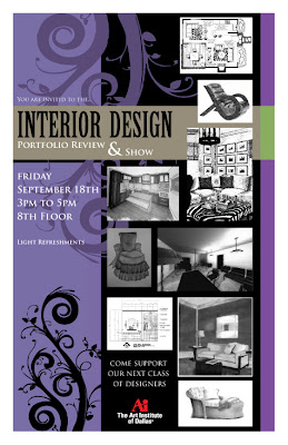 Interior Design Info Source: Interior Design Portfolio Review & Show