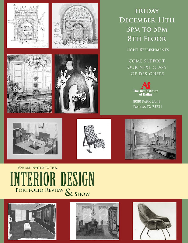 The Art Institute of Dallas - Interior Design Info Source title=