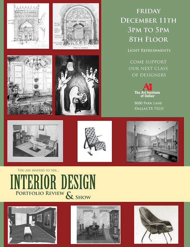 The Art Institute of Dallas - Interior Design Info Source title=