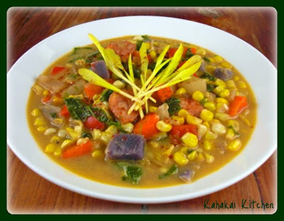 Rainbow Corn & Coconut Chowder: A Healthy & Locally-Grown Soup for ...