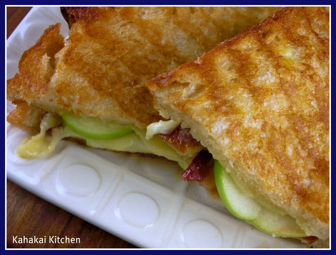 Kahakai Kitchen: Gruyère Apple Grilled Cheese with Bacon: A Crunchy ...