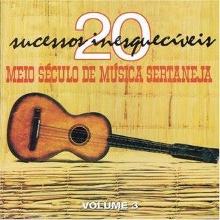 baixar capa CD Meio século de música sertaneja Vol.3
