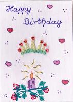 mmchens Happy Birthday Kärtchen