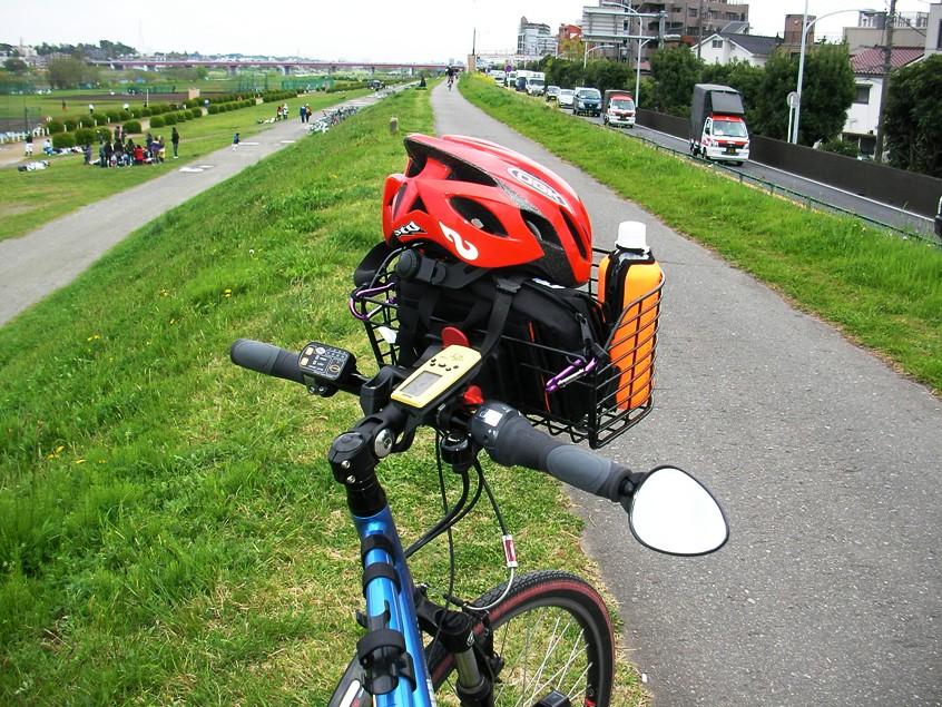 ... 夢教授の実験室: 自転車の装備
