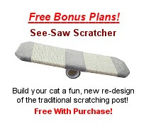 Free Cat Tree Plans: Scratcher