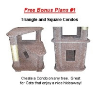Free Cat Tree Plans: Cat Condo