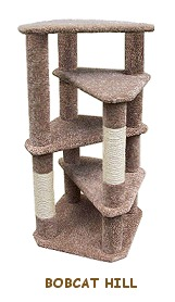 Plans cat furniture sinpa for Cat play tower plans