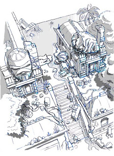 2008, Brisbane, Video Game Concept Art@arthurfilloy