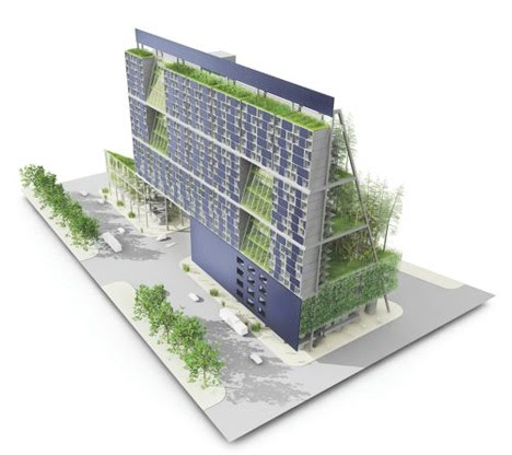 container vertical farm