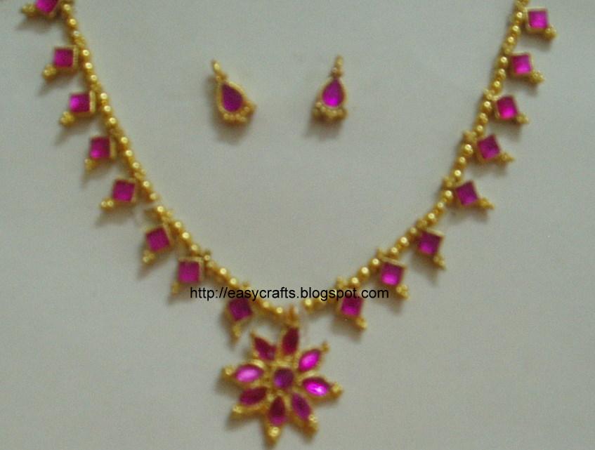 artificial jewellery design - Handmade Jewelry Design Ideas