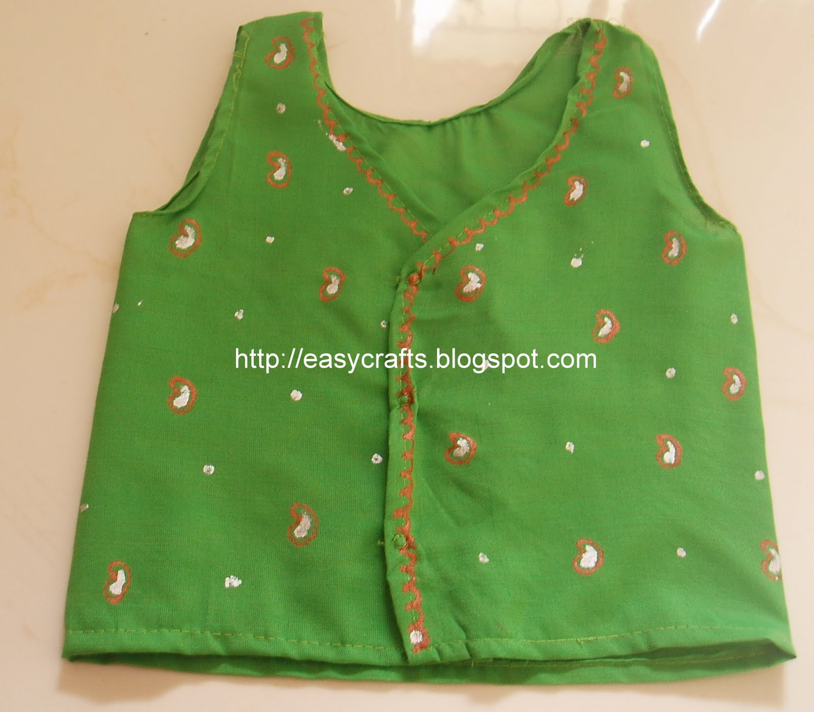 Easy Crafts Explore your creativity New born baby dress