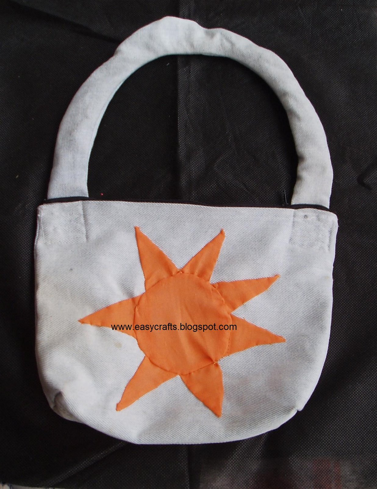 Easy crafts explore your creativity jean handbag for Wealth from waste ideas