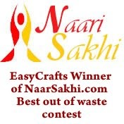 Easy crafts explore your creativity we won best out for Best out of waste easy