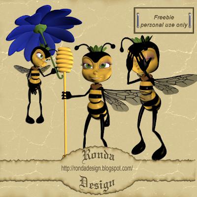 http://rondadesign.blogspot.com/2009/06/toon-bee.html