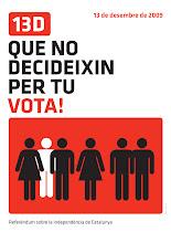 Que no decideixin per tu, vota!