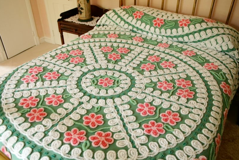 sunday may 30 - Chenille Bedspreads