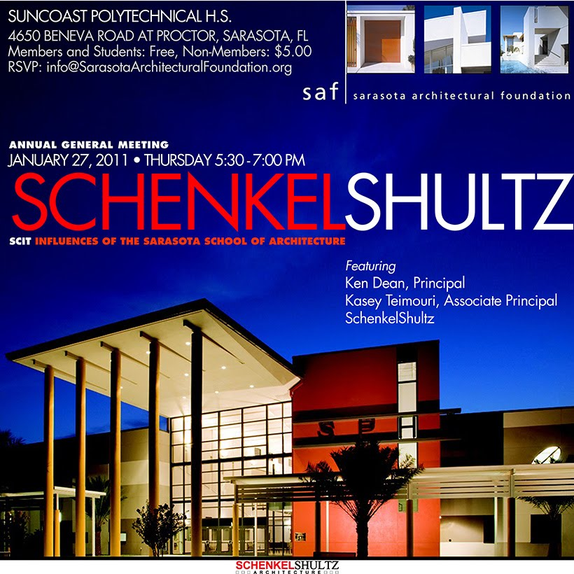 Kangaroo promotions sarasota architectural foundation to for Sarasota architectural foundation