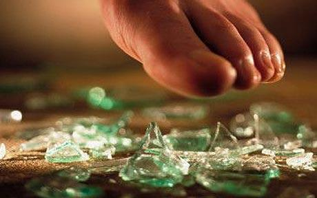 Feels Like I'm Walking on Broken Glass!