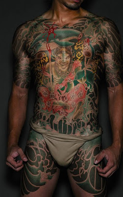 Yakuza Japanese Tattoos for Men