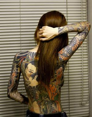 Yakuza Japanese Tattoos for Women