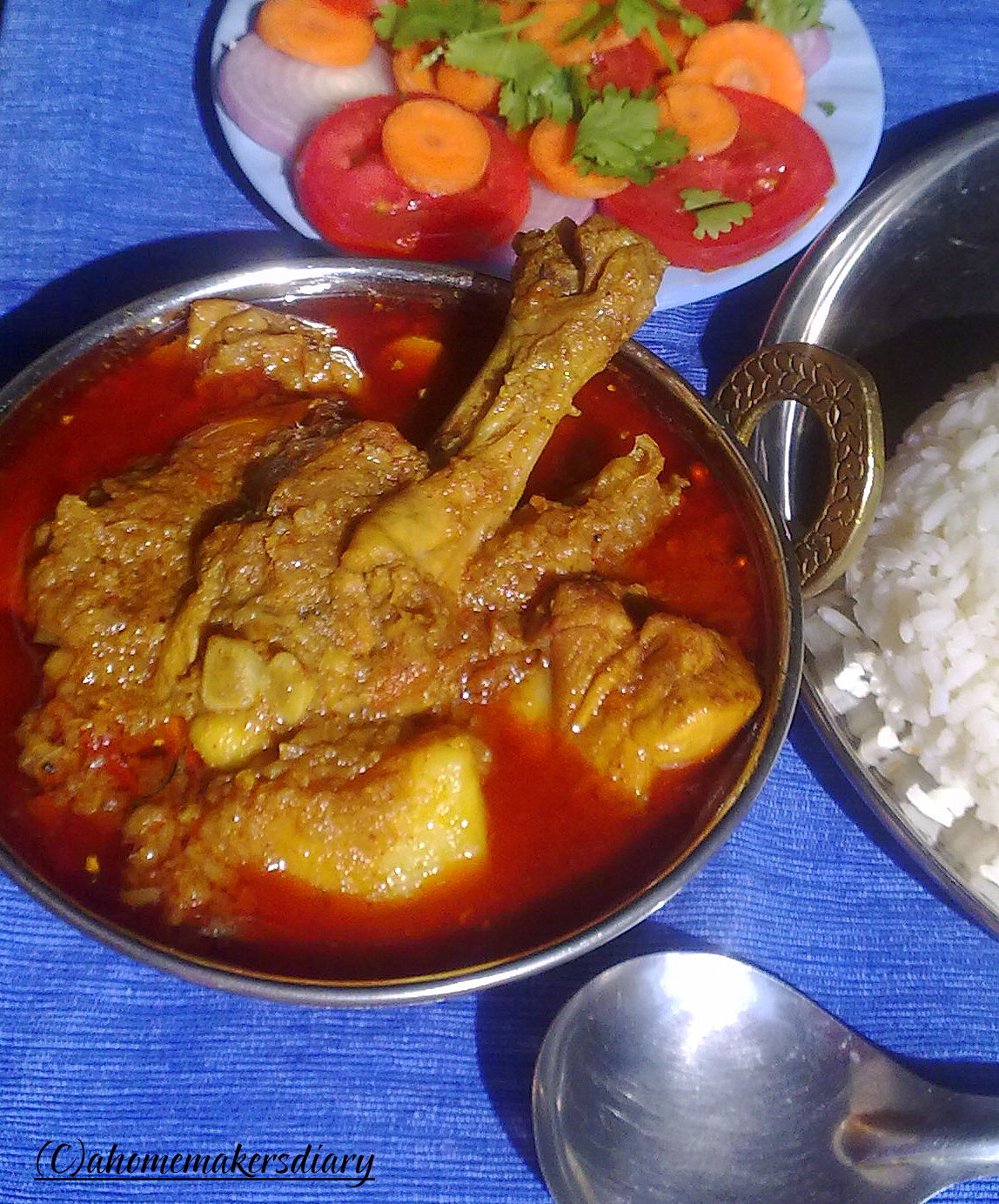 Robibarer murgir jhol sunday special chicken curry a robibarer murgir jhol sunday special chicken curry ccuart Image collections