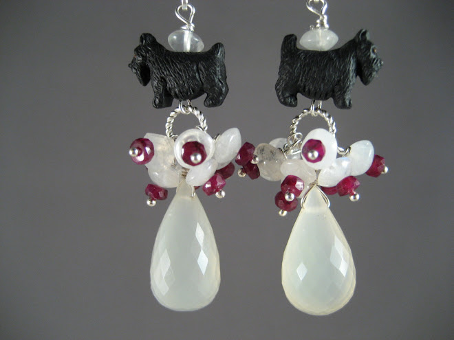 Moonstruck Scottie Earrings