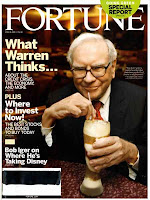 Warren Buffet en couverture du magazine Fortune