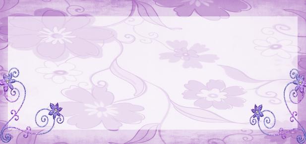 Fondos para Blog Isabella: Cabecera y Fondo Flores Lila
