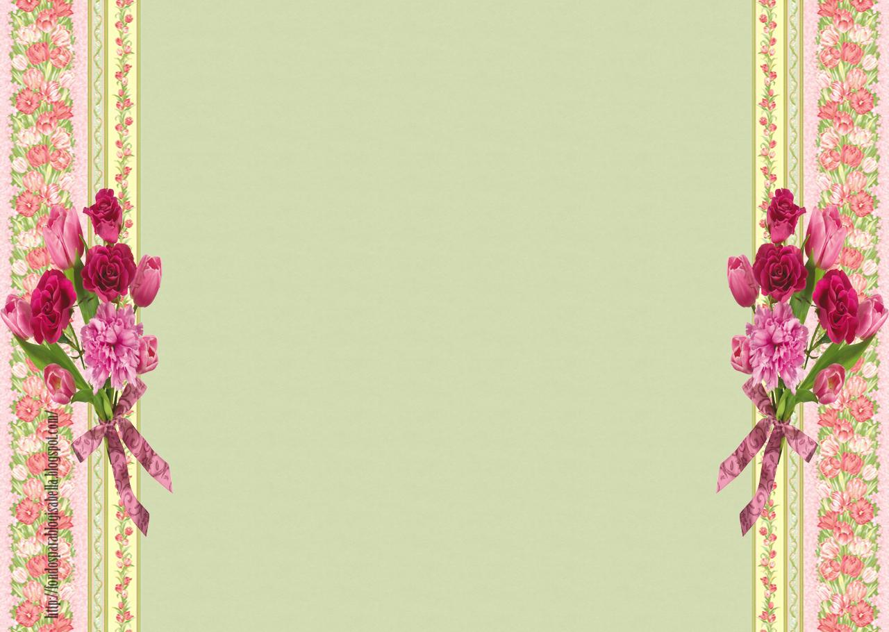 Fondos para Blog Isabella: Cabecera y Fondo Flores
