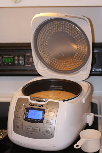 Brazilian Chicken Shrimp Soup Cuisinart Rice-Plus™ Multi-Cooker