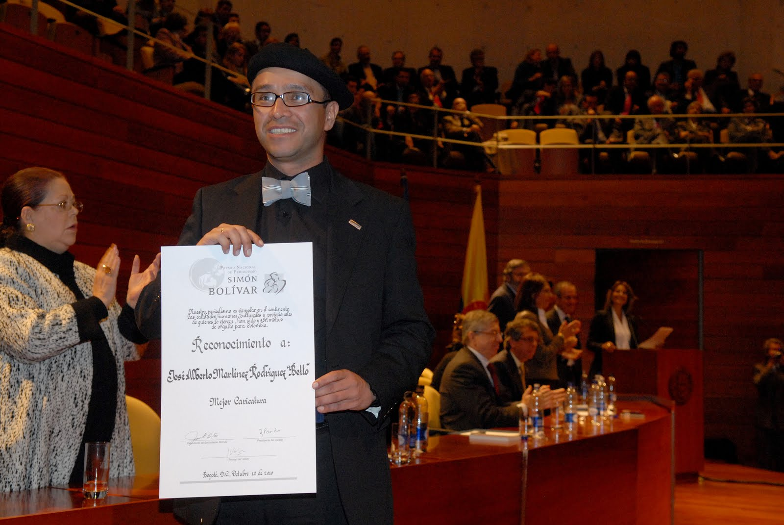 PREMIO SIMÓN BOLÍVAR 2010
