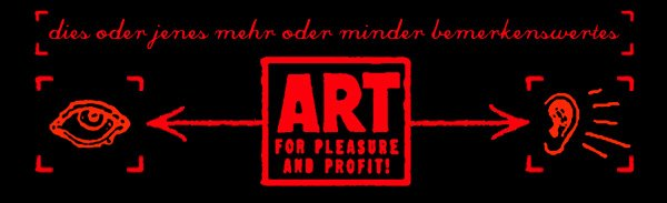 art for pleasure and profit