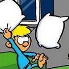 Guerra de travesseiros