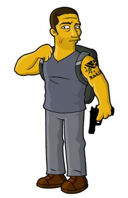 LOST x Simpsons