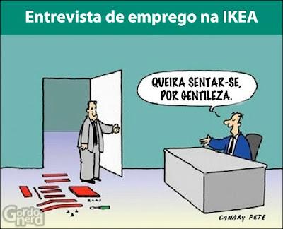 entrevista emprego ikea O que fazer em uma entrevista de emprego na IKEA