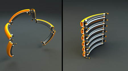Bicicleta portátil, um conceito incrível