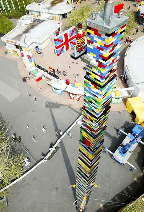 A torre de Lego mais alta do mundo