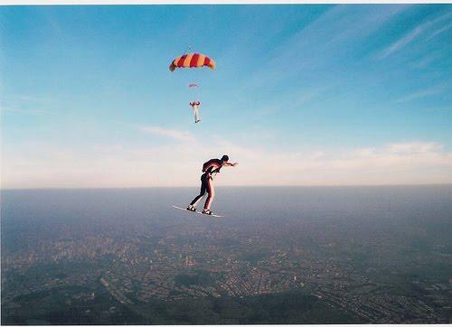 25 fotos incríveis de paraquedismo