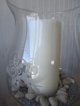 Lysglass fra Bohus Interiør