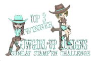Top 3 at Cowgirl up! Yeehaw!!