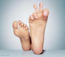 Peace foot