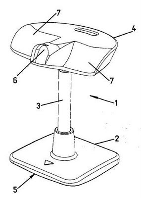 Ciber ingenieria industrial silla ergonomica para for Sillas comodas para trabajar