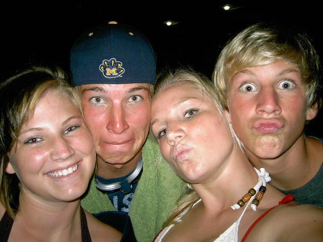 Nicole, Buck, Jessica and Waylon