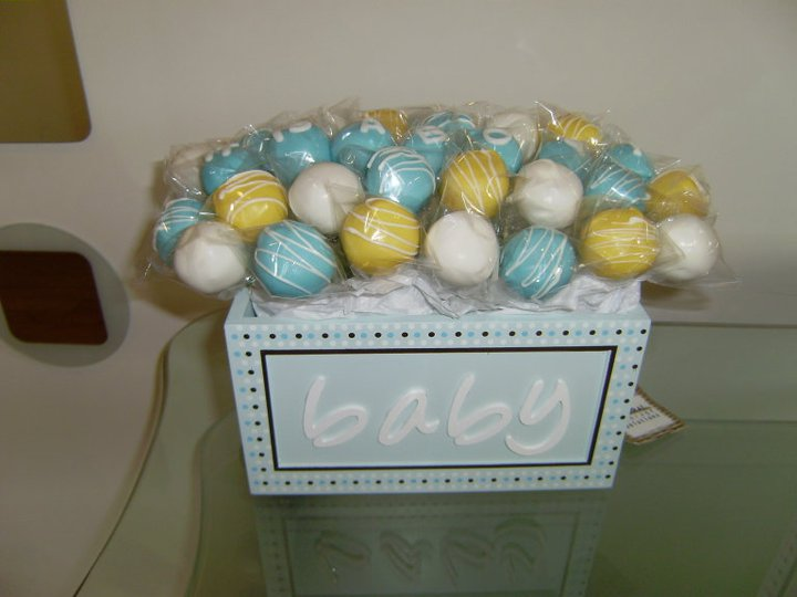 gaby 39 s cake pops baby shower cake pops