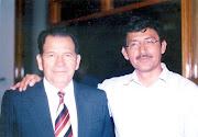 Pedro Manay Sáenz junto a Andrés Díaz Núñez