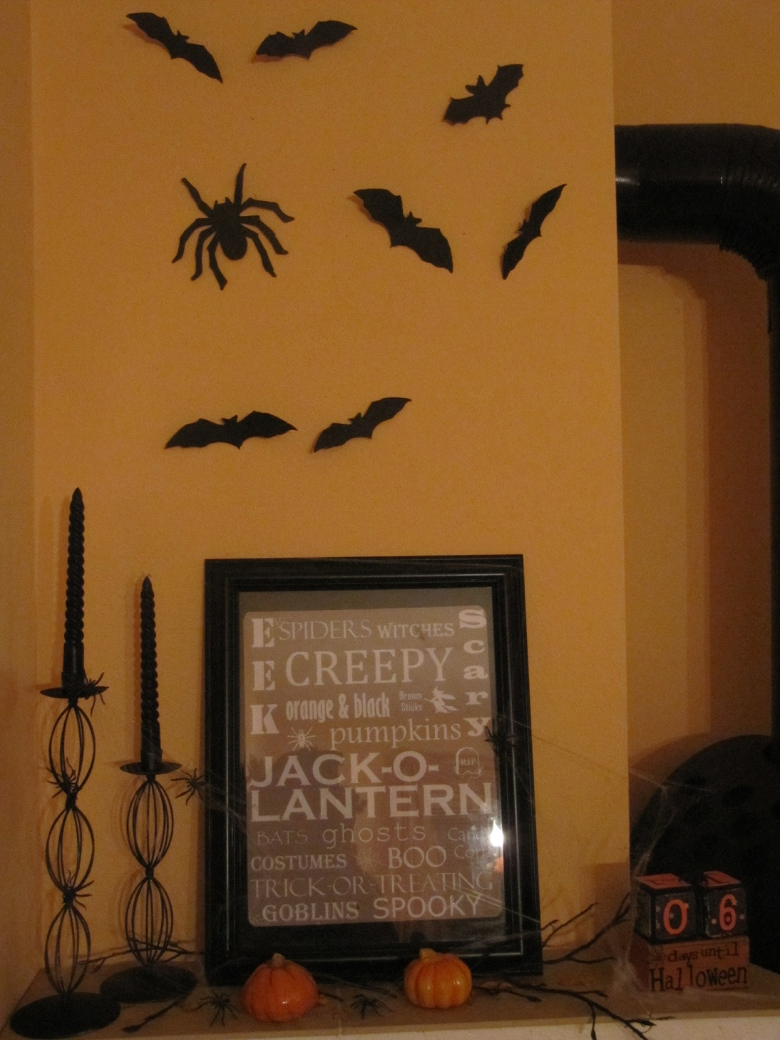 Marions Kuddelmuddel: Halloween Dekoration die 2.