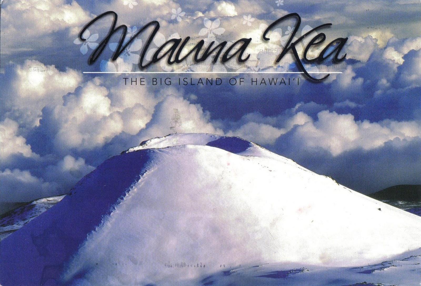 Signos preocupantes de actividad del Mauna Loa, en Hawai, el volcán activo más grande del mundo Hawaii_Mauna_Kea
