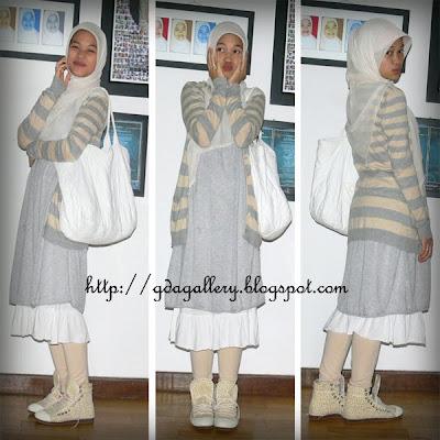 Muslimah Fashion Singapore on Day Out With My Hubbyyyyy Theme Harajuku Muslimah Halaaaaaaaaahhhh P