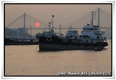 日落@荃灣碼頭 (Sunset@Tsuen Wan Pier)