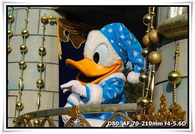 雪映舞動巡遊@香港迪士尼樂園(